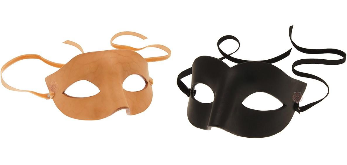 Masque sm bdsm en cuir